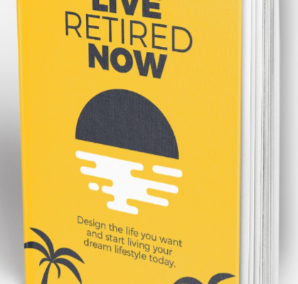 Live Retired Now book Cover